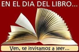 en el dia del llibre et convidem a llegir