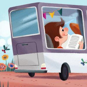 llegir al bus